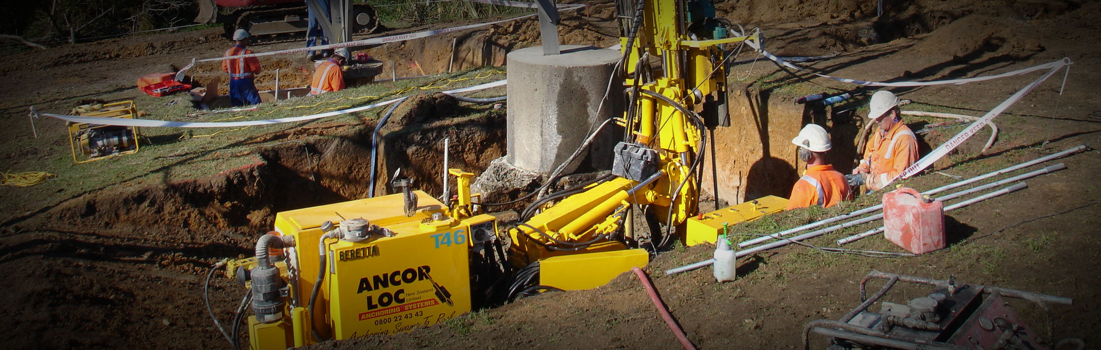 Ohinewai Pylon Foundation Strengthening 03 Ancor Loc Nz