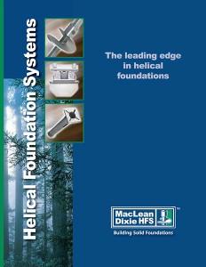 Helical Piles - Ancor Loc NZ